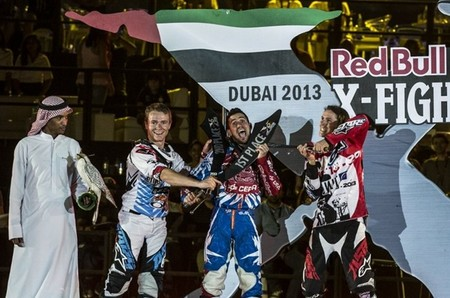 Dany Torres saca brillo a sus galones en el Red Bull X-Fighters de Dubai