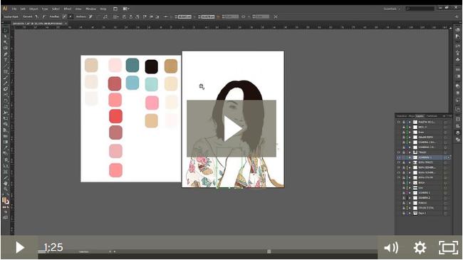 Ilustracion Personalizada Crea Un Retrato Oriental Curso Crehana