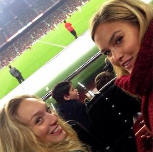 Todas alerta, que Bar Refaeli ha vuelto al Camp Nou