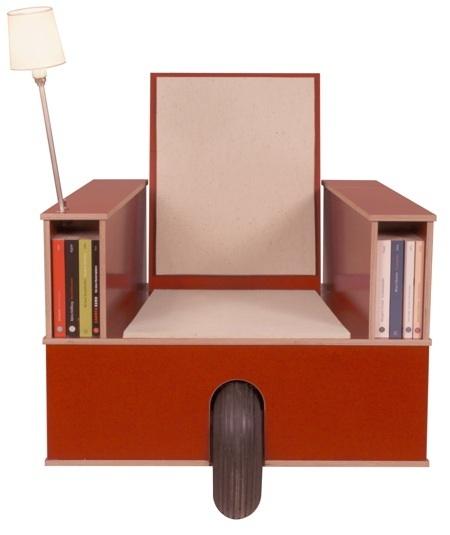 Foto de Otro rincón de lectura, compacto y móvil (2/4)