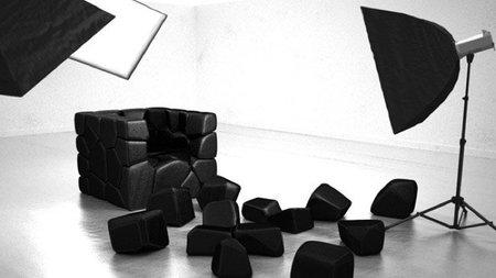 Una butaca distinta cada día con Vuzzle Chair