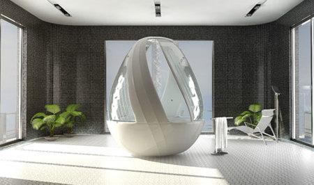 Shower egg