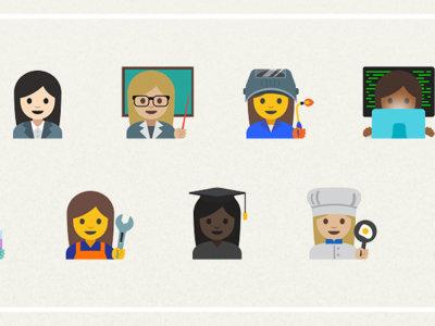 Google presenta los 11 nuevos emojis de profesiones y la promoción de la igualdad de género