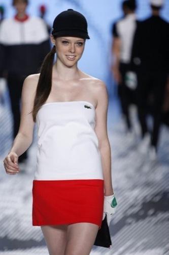 Lacoste, colección primavera-verano 2009 vestidos