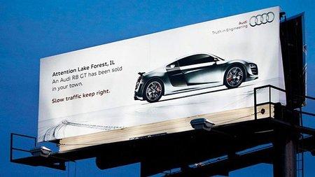Un Audi R8 GT se ha vendido en tu ciudad: ¡los lentos mantenerse a la derecha!