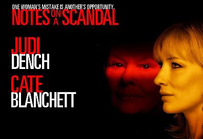 Trailer de 'Notes on a scandal' con Judi Dench y Cate Blanchett