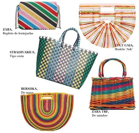 Bolsos Multicolor