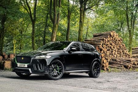 El Lister Stealth es el SUV inglés más rápido: un Jaguar F-Pace SVR de 666 CV, 314 km/h de punta y sólo 100 unidades