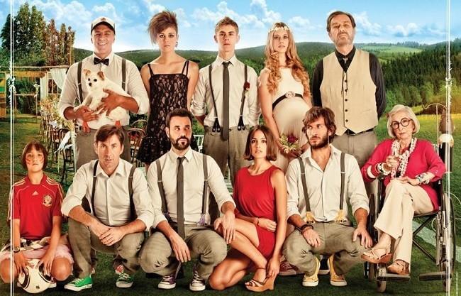 Cartel de 'La gran familia española'