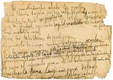 España compra el único manuscrito del poema Crucifixión