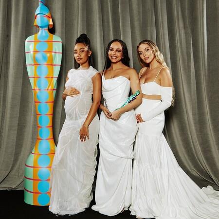 alfombra roja brit awards 2021 little mix