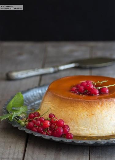 Flan de queso: receta tradicional muy fácil