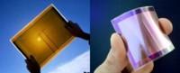 Láminas flexibles solares para los gadgets