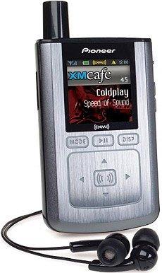 Pioneer Inno XM2Go, MP3 y radio satélite