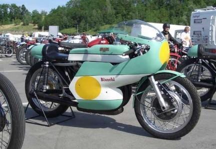 Bianchi 500 cc GP bicilindrica