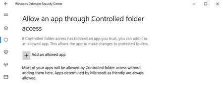 Windows Protected Folders