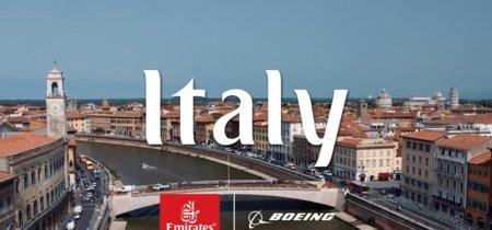 Lo más romántico de Italia, visto desde las nubes