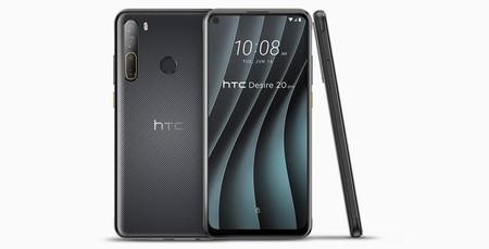 HTC Desire 20 Pro, la marca renueva su gama más icónica con potencia contenida y cuádruple cámara trasera