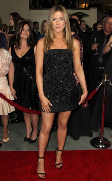 Pero cuánto tiempo sin ver a Jennfier Aniston en la alfombra roja