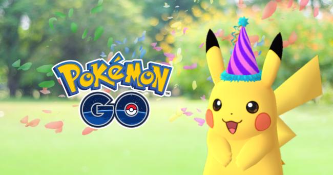 Pokemon Go Pikachu Aniversario