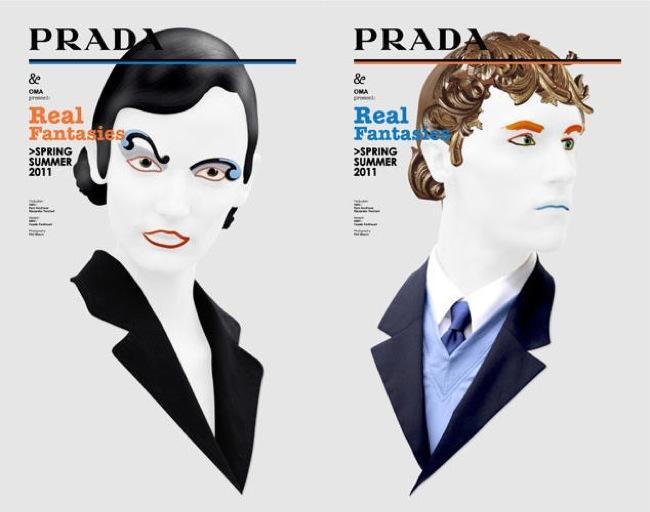 Foto de La fantasía de Prada junto a AMO en el lookbook Primavera-Verano 2011 (1/21)