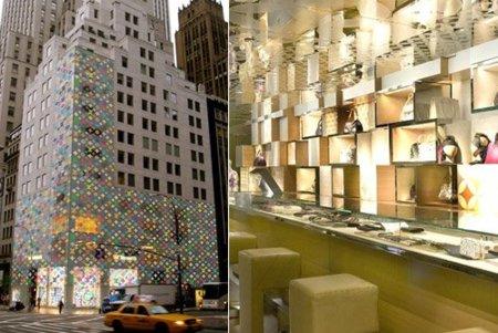Louis Vuitton en la 5th avenida de Nueva York