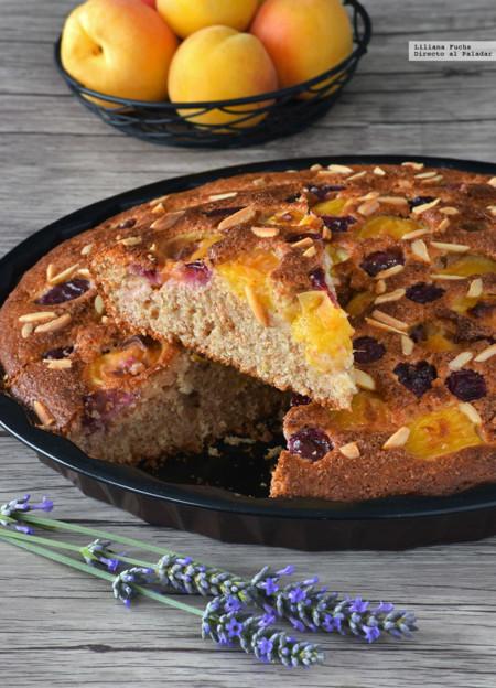 Cake Cerezas Albaricoques