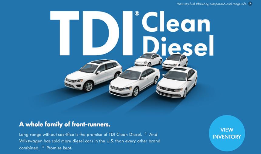 Volkswagen Tdi Clean Diesel
