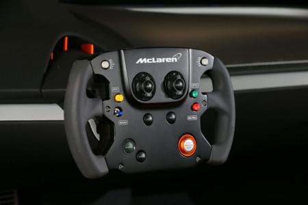 Mclaren 675lt Jvckenwood Concept Steering Wheel 1