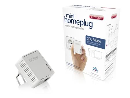 Sitecom LN-520 Mini Homeplug, nuevo PLC que apenas ocupa nada