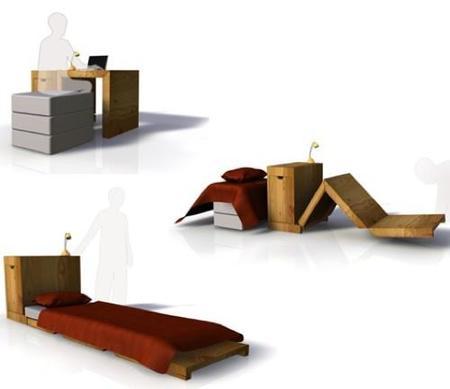 escritorio convertible abierto