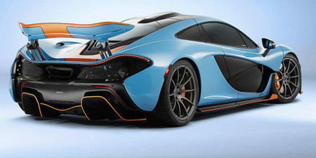 MSO McLaren P1 Gulf
