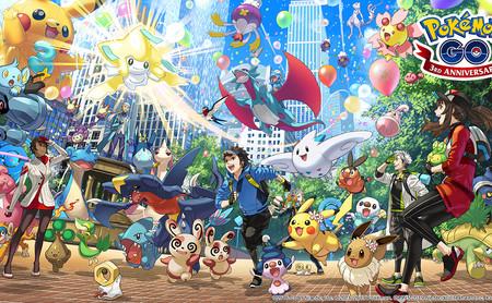 Pokémon GO: así ha evolucionado el juego de Niantic en sus tres años de vida