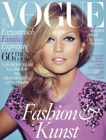 Quiero lucir un look al estilo Brigitte Bardot como en Vogue Alemania