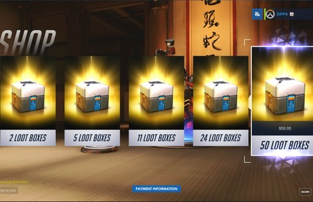 Loot Boxes Gobierno Espana