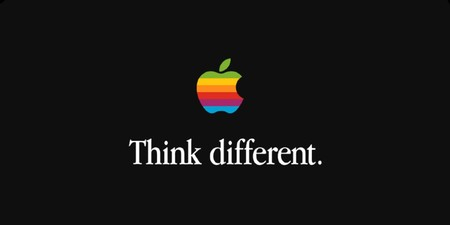 Subastan un cartel original del logo multicolor de Apple de 1978