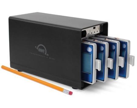 OWC ThunderBay 4 mini, almacenamiento externo con conexión Thunderbolt 2