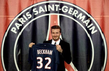 Monsieur Beckham jugará en París por los niños