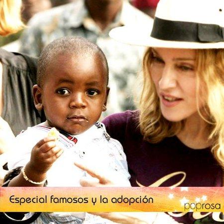 Especial día del niño: Famosos que optaron por la adopción