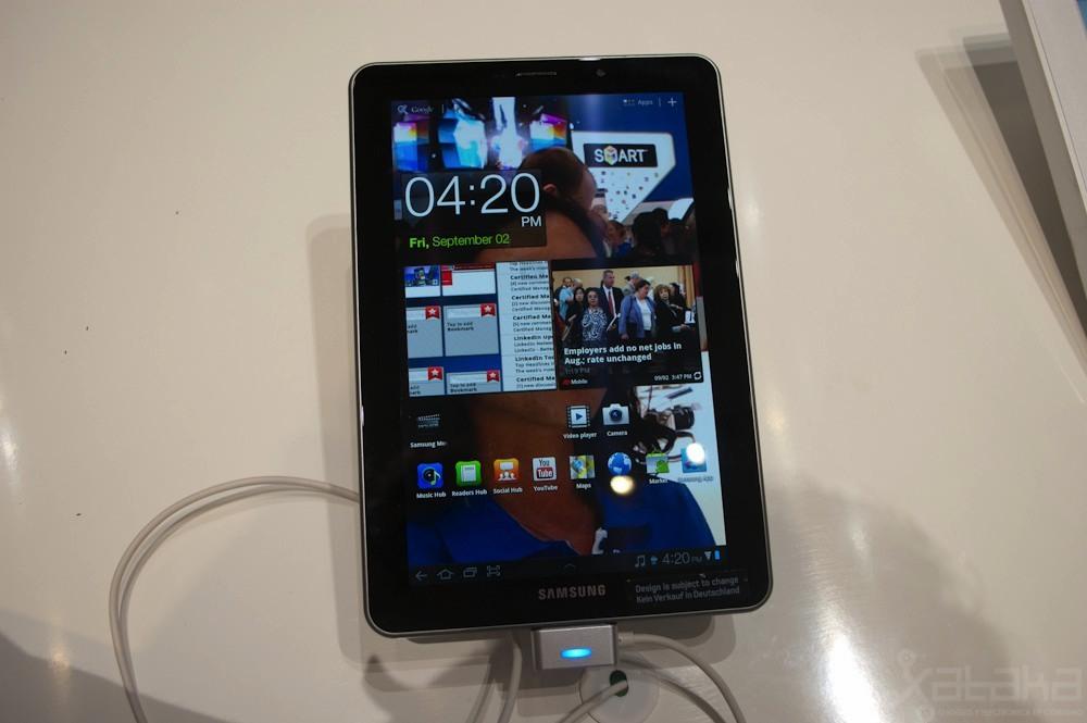 Foto de Samsung Galaxy Tab 7.7 en IFA 2011 (1/8)