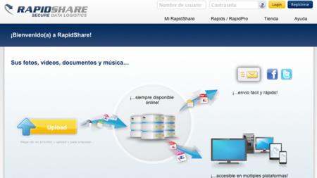 Rapidshare está limitando la velocidad de descarga a usuarios gratuitos