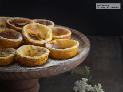 Pastéis de nata. Receta dulce portuguesa