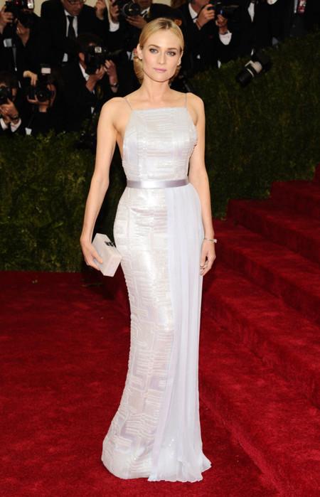 Diane Kruger de Hugo Boss Gala MET 2014