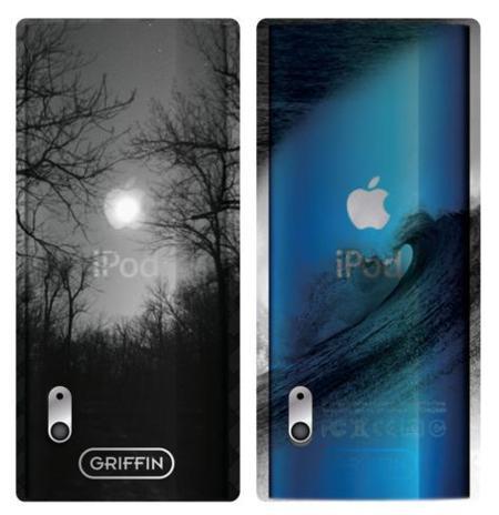 Carcasas protectoras de Griffin para el nuevo iPod Nano 5G