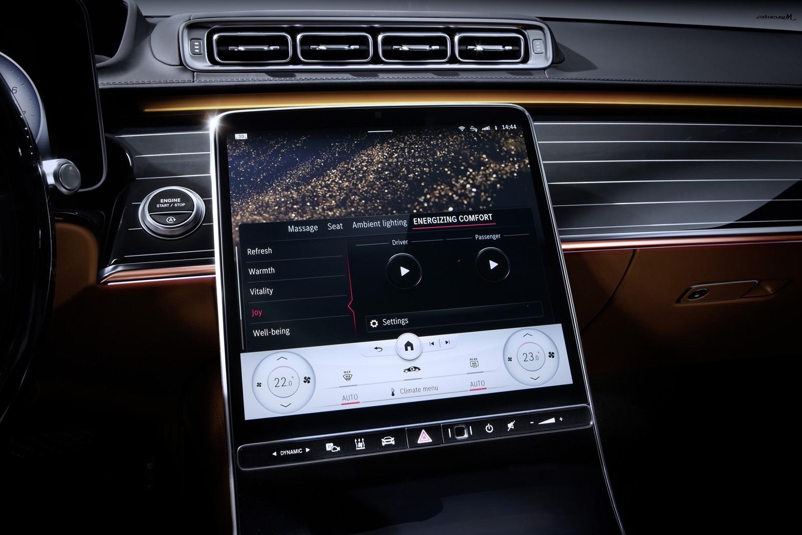 Foto de Mercedes-Benz Clase S 2021 teaser interior (9/12)