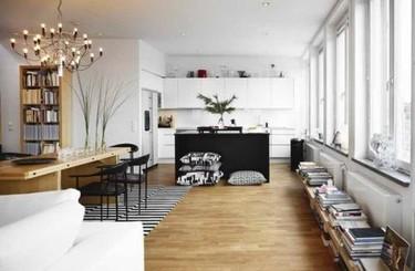 Grandes soluciones para espacios pequeños: una repisa baja