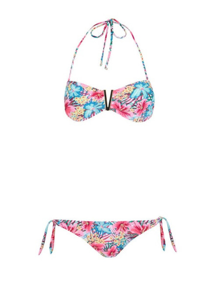bikini flores tropicales