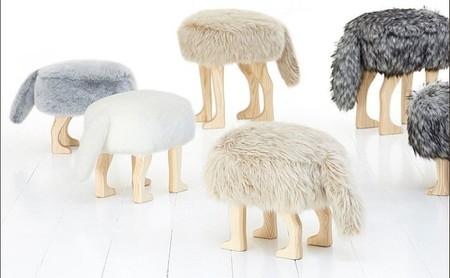Animal stool, los asientos más suaves