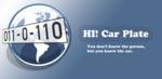 hi-car-plate