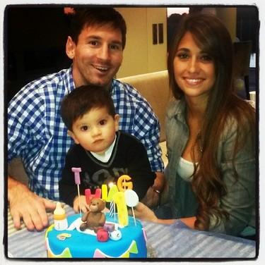 Pues nosotros también felicitamos a Thiago Messi, ¡faltaría más!